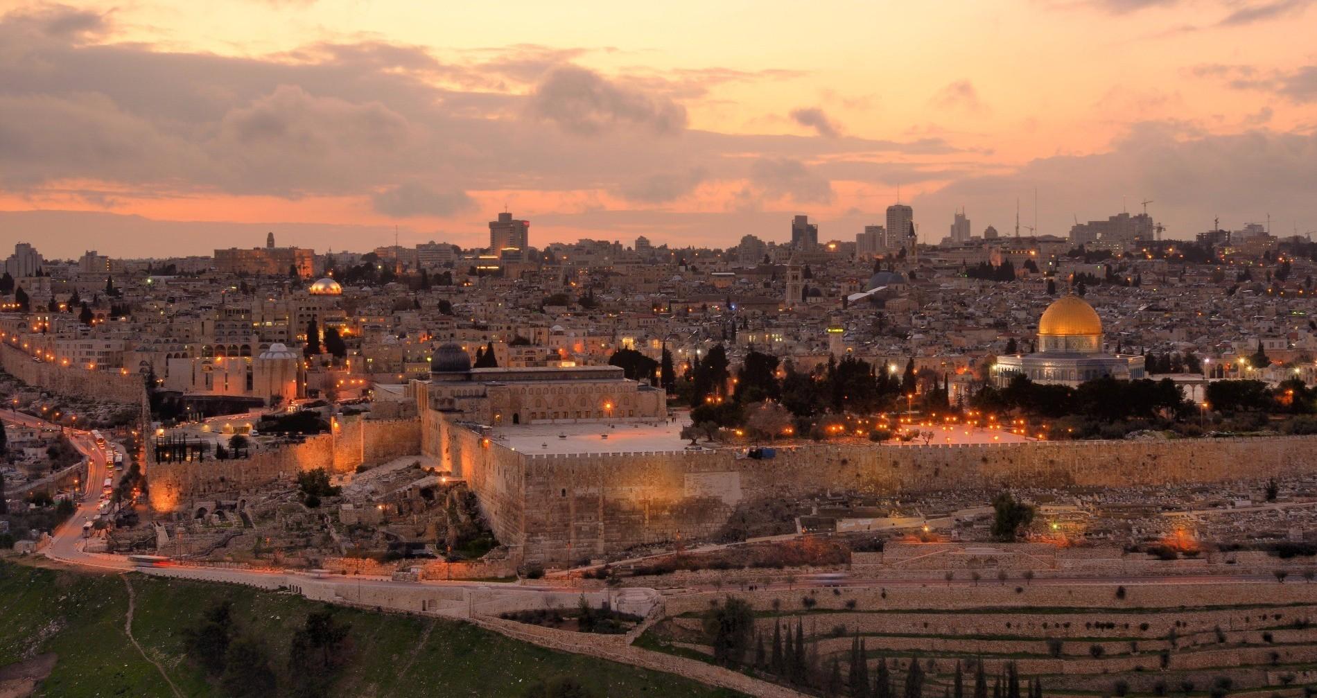 ירושלים בערב איכותי