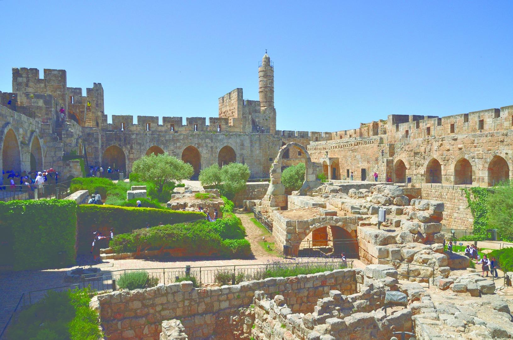 15-עתיקות עיר דוד